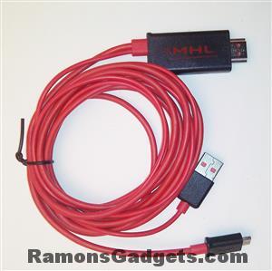 MHL naar HDMI kabel 2m