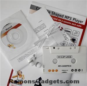 Cassette MP3 speler, Cassetterecorder naar MP3, Ghettoblaster nieuw leven