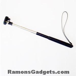 Monopod voor compact camera