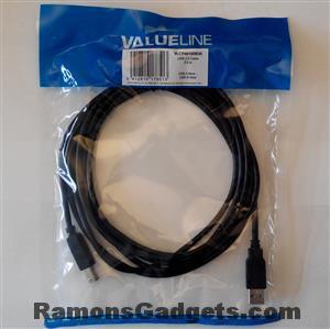 USB kabel - Male A naar Male B