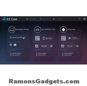 ezcast m2 dongle - chromecast alternatief