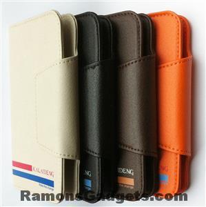 Kaleideng Versal Bookcase Flipcase 4.9-5.5 geschikt voor o.a. Wolfgang AT-AS55HD en AT-AS50Q