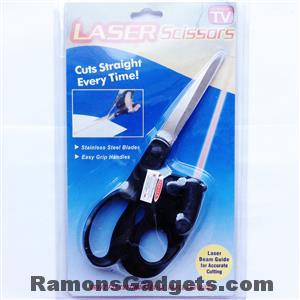 Laser Schaar - Papier en stof recht knippen