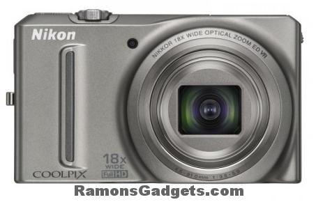 Digitale camera Nikon-COOLPIX-S9100 18x zoom