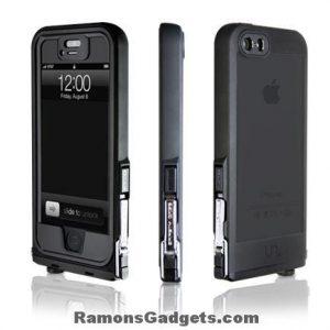 Iphone 5 5s waterproof UNCOMMON Safetey Case Black