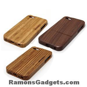 Woodiful - iphone 5 5s wood - hout - bamboe-Walnut-zebra