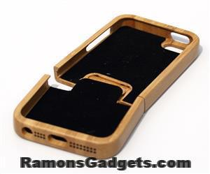 Woodiful - iphone 5 5s wood - hout - bamboe case