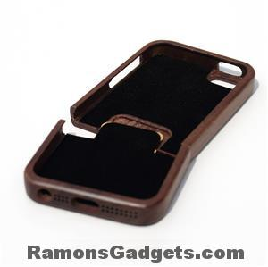 Woodiful - iphone 5 5s wood - hout - walnut case