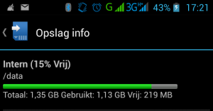 Link2SD-DATA-Storage Root Cleanup data partitie