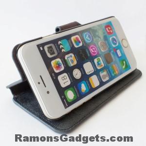 iPhone6-Lederen-Flipcase-Bookcase