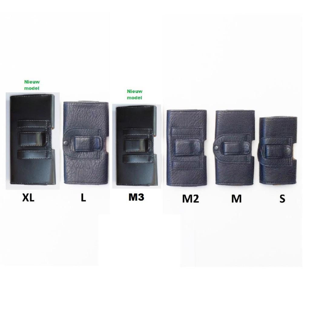 Riem hoes - holster - opberg mapje Maat S-M-M2-M3-L-XL voorkant-XL-Nieuw (2) - kopie