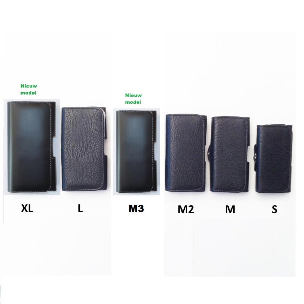 Riem hoes - holster - opberg mapje Maat S-M-M2-M3-L-XL voorkant-XL-Nieuw (3) - kopie