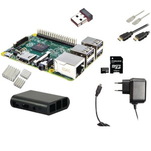 RaspBerry-Pi 2 - Model B Starter Kit - Wifi - Noobs