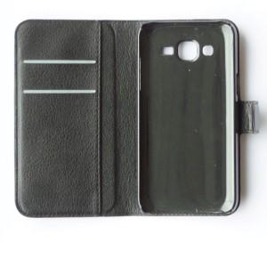 Samsung Galaxy J5 Flipcase met Plaats voor pasjes en steun functie