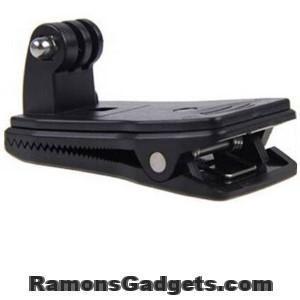 GoPro backpack Clip klem action cam