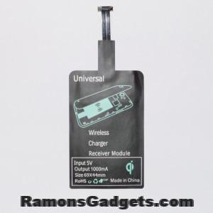 Wireless Qi receiver MicroUSB Type B