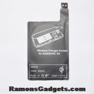 Wireless Qi receiver Samsung Galaxy S4