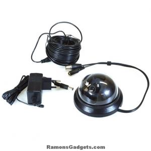 dome beveiligings camera cctv 576i