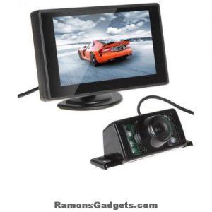 Achteruitrij camera - 4.3 monitor scherm