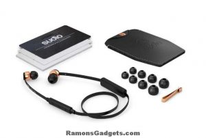 Draadloze hoofdtelefoon - headset - bluetooth - Sudio Vasa BLÅ (2)