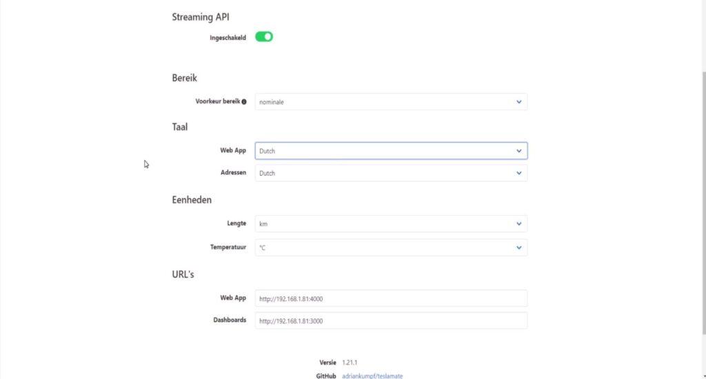 Teslamate - Tesla Data logger